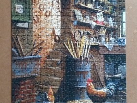 The Workshop by Edward Hersey 500 Pieces ( Anatolian )