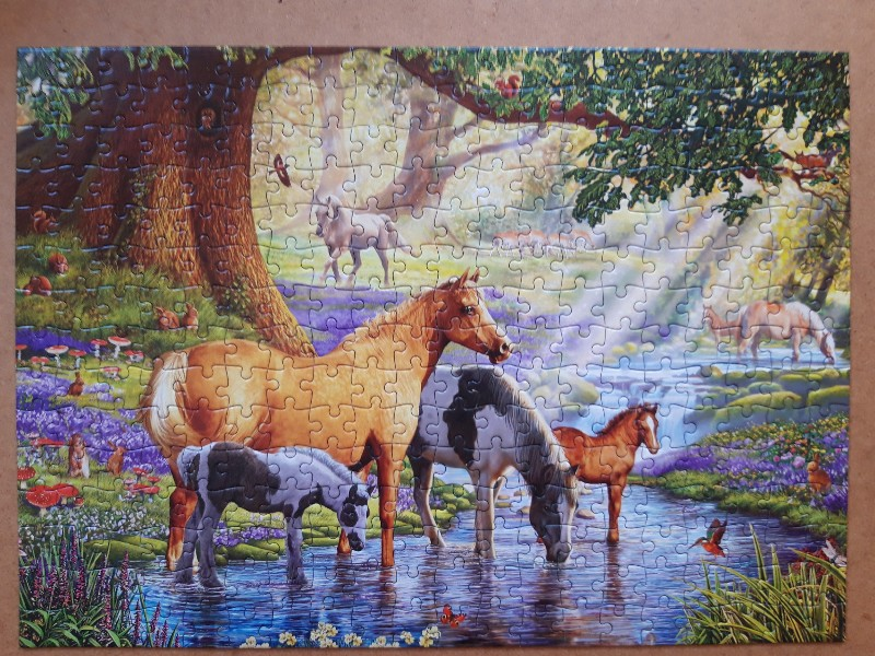 Horses by the Stream
