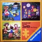Kinderlieder, 3 x 49 Teile, Ravensburger