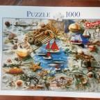 Meeresimpressionen-Blatz-1000 Teile