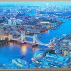 Aerial View of London 1000 pieces ( Castorland Puzzle )