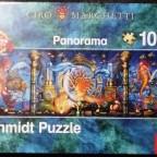 Unterwasserwelt, Ciro Marchetti, Panoramaformat, 1000 Teile, Schmidt