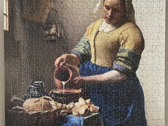 Johannes Vermeer: Dienstmagd mit Milchkrug