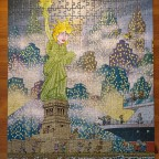 Miss Liberty, 500 Teile (moca)