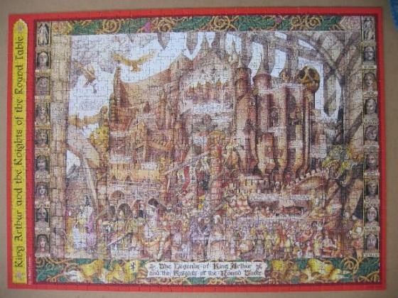 König Artus und die Ritter der Tafelrunde-Ravensburger-1000 Teile