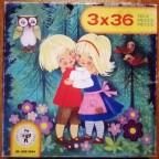 Bilder aus 3 Grimms Märchen, 3 x 36 Teile, Pestalozzi Verlag