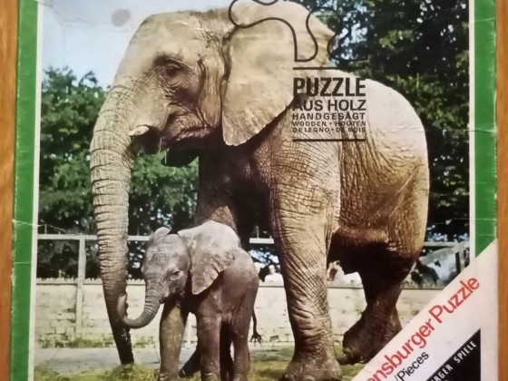 Elefanten, 20 Holzteile, Ravensburger