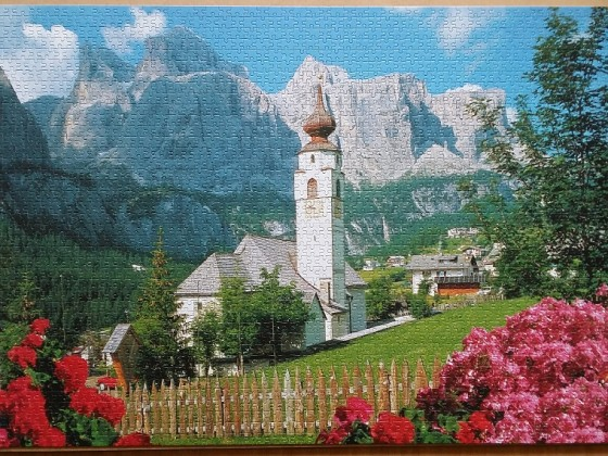 Kolfuschg, Dolomites 2000 Pieces  ( Jumbo )