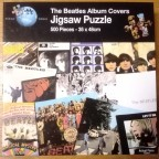The Beatles Album Covers, Puzzle World, 500 Teile