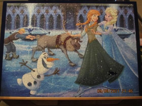 Ravensburger Anna, Elsa, Kristoff, Olaf und Sven 1000
