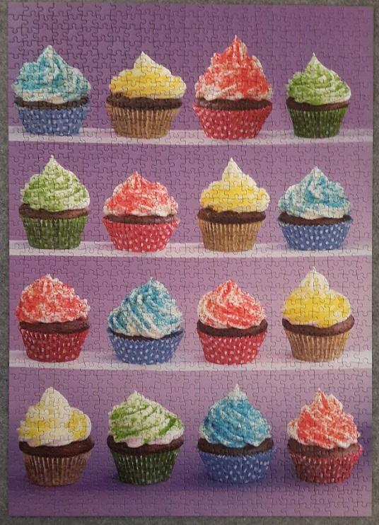 Cupcakes Spaß, Schmidt 58210, 1000 Teile