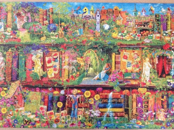 The Garden Shelf - Puzzle von PuzzleBiene an Sonnenbluemle