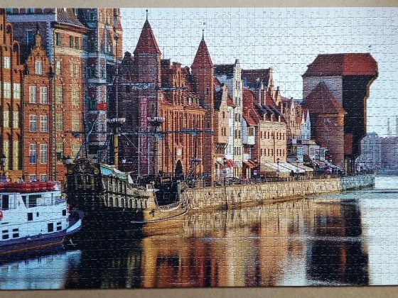 Gdansk, Poland 1500 Pieces ( Trefl )