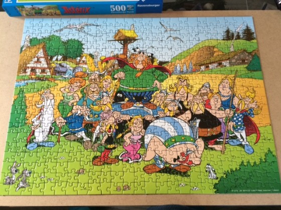 Asterix und sein Dorf - Ravensburger 500 Teile