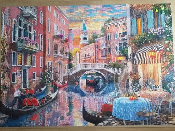 Venice evening sunset by Dominic Davison 6016 Pieces ( Clementoni )