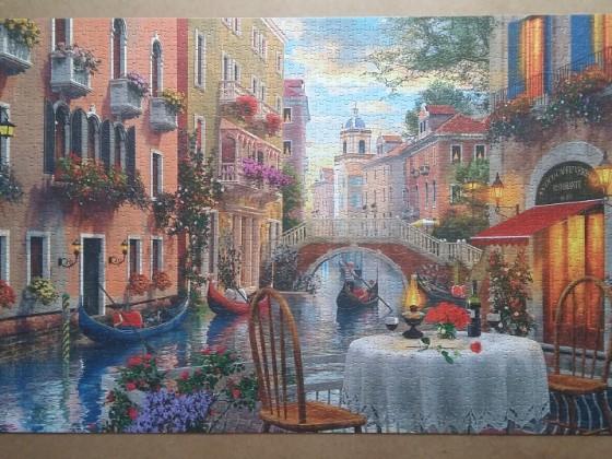 Romantic View by Dominic Davison 1500 Pieces ( Jumbo )