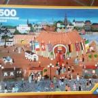 Zirkus vor der Stadt-Ravensburger-1500 Teile