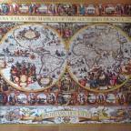 Big World Map by Pieter van den Keere 1611. 9120 Pieces  mixed  ( Ravensburger Puzzle )
