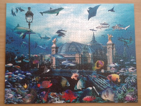 Grand Palais Aquarium by Patrick Le Hec' h. 2000 Pieces ( Nathan )