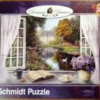 Blick in den Schlossgarten, Schmidt, 1000 Teile