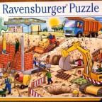An der Baustelle, 100 Teile, Ravensburger