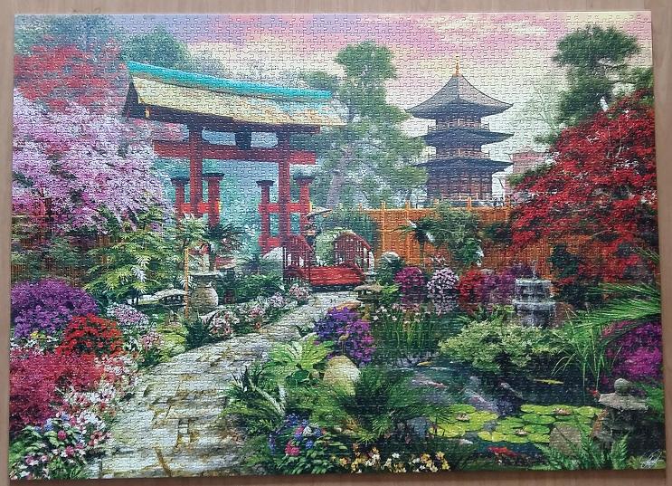 Japan Garden by Dominic Davison ( 2014 ) 3000 Pieces ( Educa Puzzle )