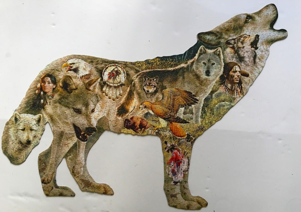 native wolf