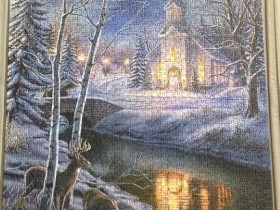 O Holy Night - Puzzle von shaddowww an PuzzleBiene