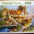Cottage, 1000 Teile, Schmidt
