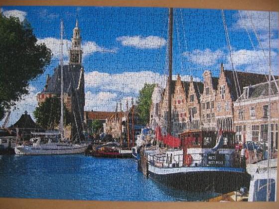 Hoorn, Niederlande-Schmidt-1000 Teile