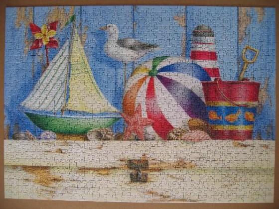 Beach Memories-Ravensburger-1000 Teile