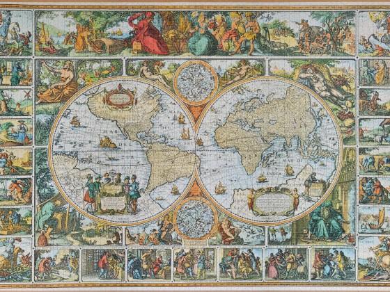 Ravensburger - Historische Weltkarte, 5000