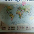 Weltkarte-Ravensburger-1000 Teile