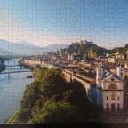 Salzburg mit Blick auf die Festung