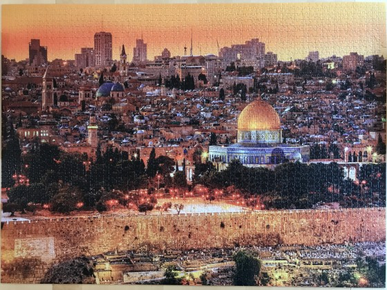The roofs of Jerusalem, 3000 Teile, Trefl