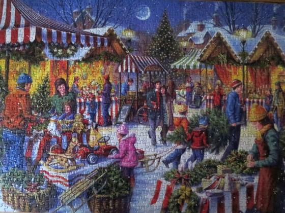 Gibsons 1000Teile Tony Ryan: Christmas Fayre