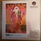 Wentworth Wooden Puzzle - 1000 Teile Klimt Santa - Art. 691203