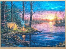Evening Mist by Abraham Hunter 1000 pieces ( Eurographics )