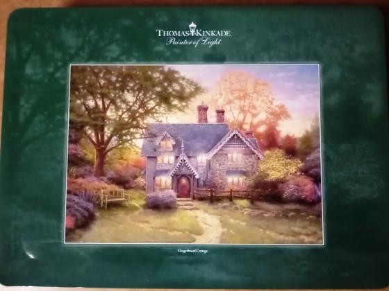 Gingerbread Cottage, Schmidt, 1000 Teile, in Blechdose
