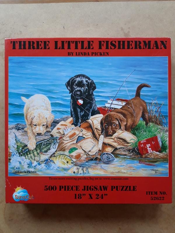 Three little Fisherman