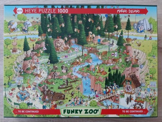 """Black Forest Habitat – Funky Zoo"" (Marino Degano) von Heye"