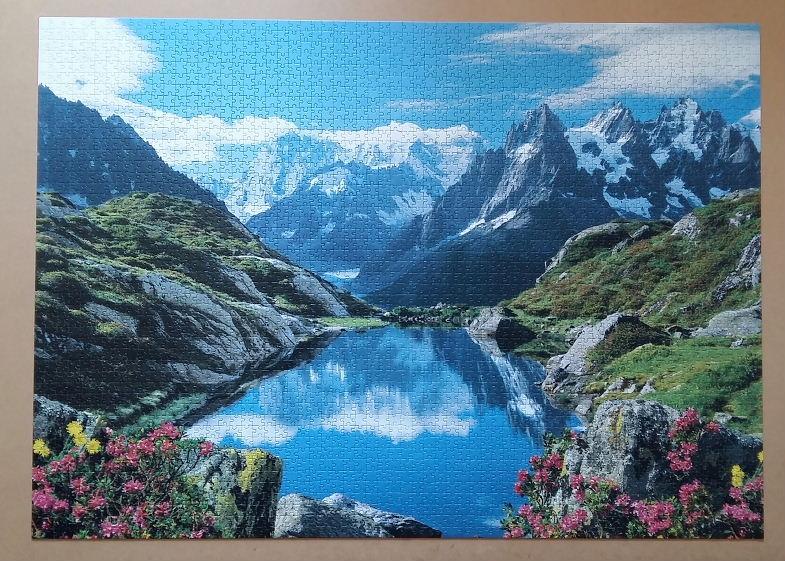 Chamonix Valley 3008 Pieces ( Clementoni )