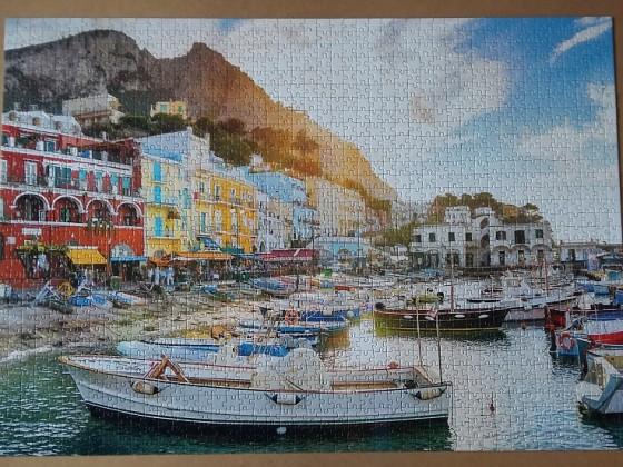 Capri, Italy 1504 Pieces ( Clementoni )