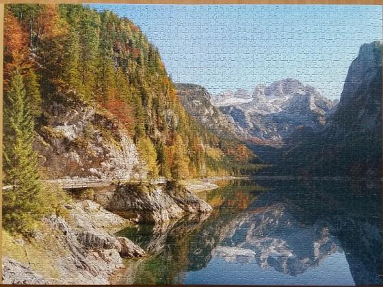 Gosausee , Austria 2000 Pieces ( Castorland Puzzle )