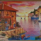 The Mediterranean Harbour by Dominic Davison 5000 Pieces ( Educa Puzzle )