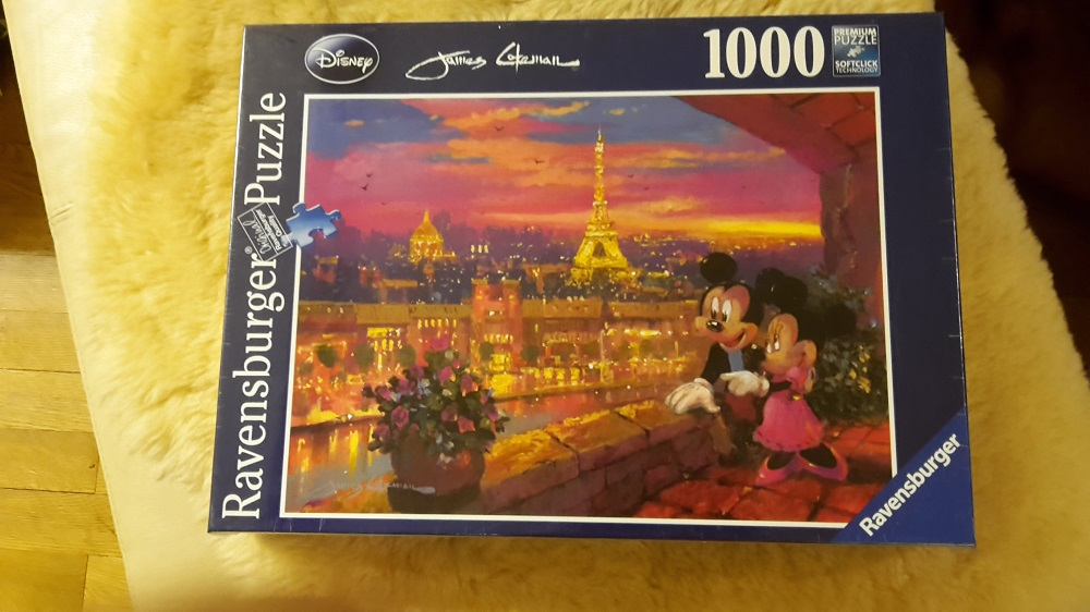 Disney - Paris 1000 Ravensburger