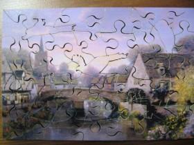 The Mill Pond von Alexander Sheridan-Wentworth-40 Teile