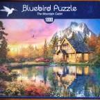The Mountain Cabin, 1000 Teile, Bluebird
