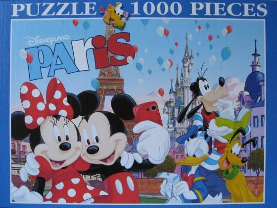 Disneyland Paris, Clementoni, 1000 Teile