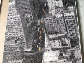 New York Taxis - 1000 Teile